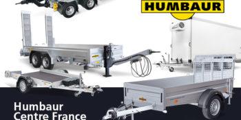AURA Remorques, distributeur Humbaur Centre France.