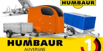 Acheter une remorque Humbaur en Auvergne